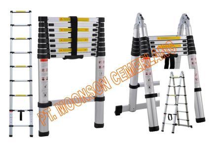 tangga aluminium teleskopik